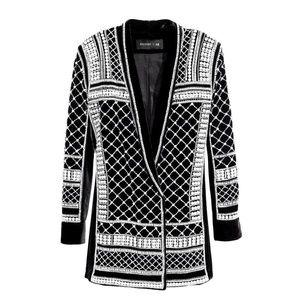 Balmain X H&M Pearl Embellished Tuxedo Blazer